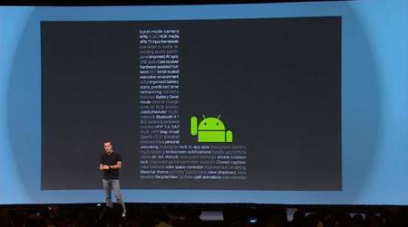 Android L, así es el nuevo sistema operativo de Google