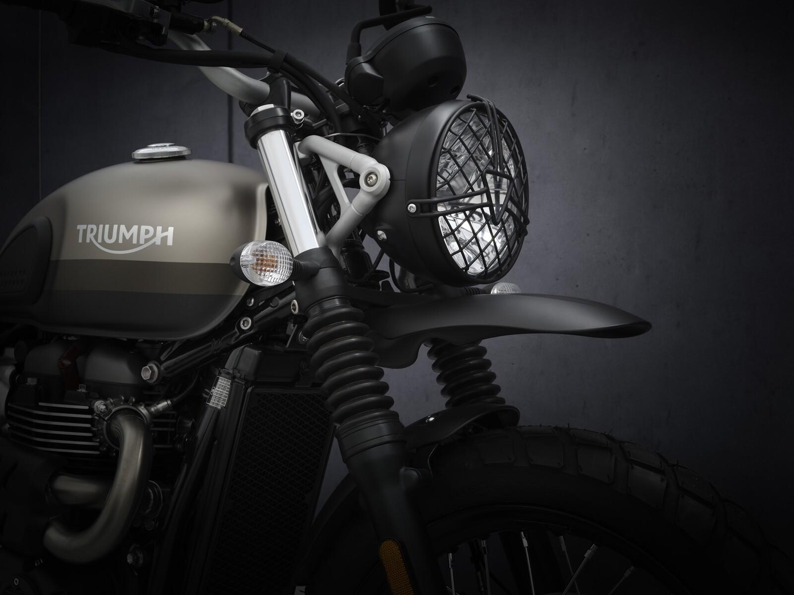 Foto de Triumph Street Scrambler Sandsorm 2021 (4/15)