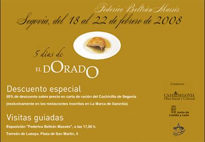 Cinco días del dorado en Segovia: cochinillo a mitad de precio