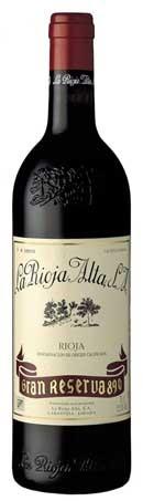 Gran Reserva 890, Reserva 1995 de La Rioja Alta S.A.-botella