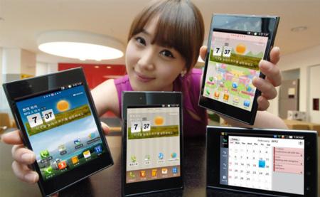 LG podría presentar un phablet de 5,5 pulgadas y un smartphone con 1mm de grosor en el marco en el CES
