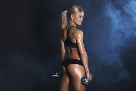 Perder Peso Quemar Grasa Calorias Desarrollo Muscular