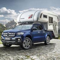 Ya puedes convertir tu Mercedes-Benz Clase X en una camper lista para cualquier aventura