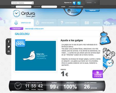 Ordura, tu web de descuentos para Donostia-Gipuzkoa