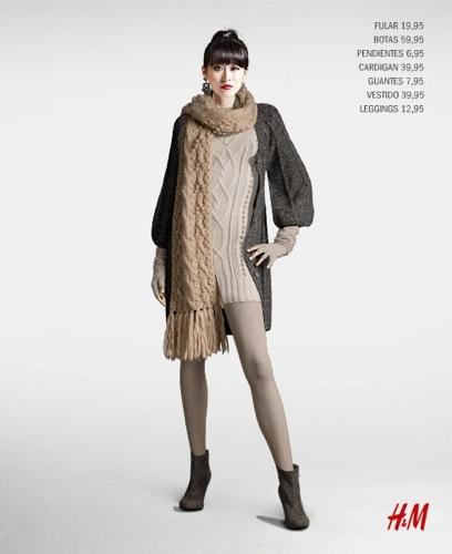 H&M elige su top 4 de los mejores looks para este Otoño-Invierno 2009/2010