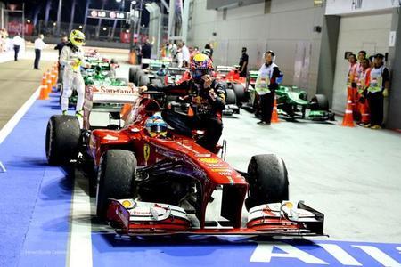 La Fórmula 1 llega a la noche de Singapur