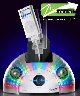 iPulse, los altavoces cantones para iPod