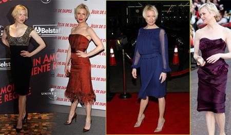 Renée Zellweger en las premieres de Leatherheads ¿Qué diseño te gusta más?
