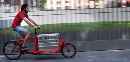Es viable confiar a la bicicleta la mitad del transporte de cargas urbano