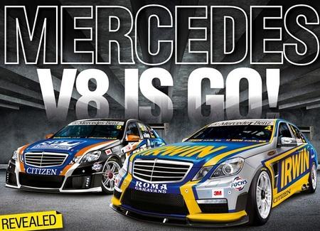 Mercedes, cada vez más cerca de los V8 Supercars