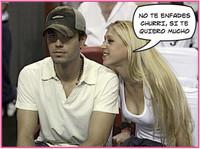 La Kournikova le da calabazas a Enrique Iglesias