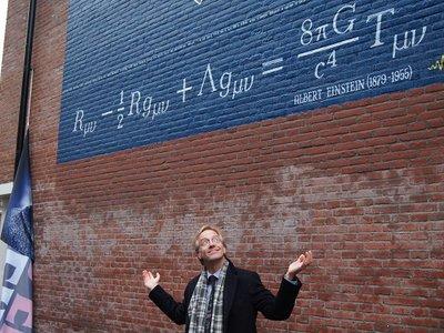 En esta ciudad están llenando las paredes de ciencia y el resultado está siendo realmente curioso