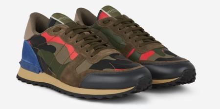Valentino Sneaker Camo 1