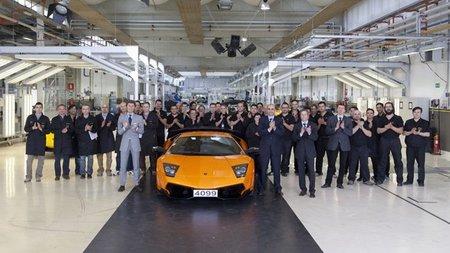 Ultimo Lamborghini Murciélago LP670-4 SV