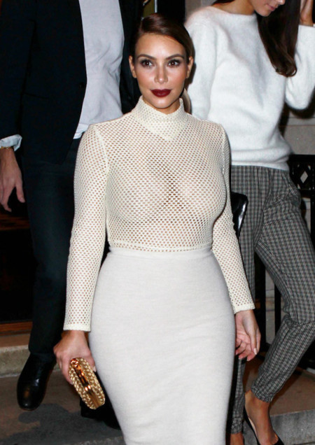 Kim Kardashian no conoce el miedo