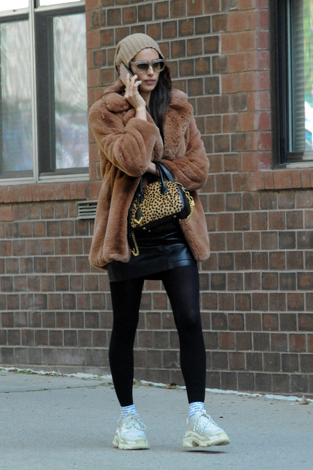Irina Shayk look mango