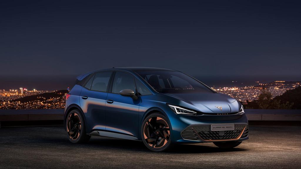 CUPRA el-Born: el primer modelo 100% eléctrico de la marca independiente de SEAT llega con hasta 500 kilómetros de autonomía