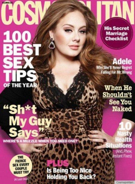 Adele en la revista Cosmopolitan: queremos más...