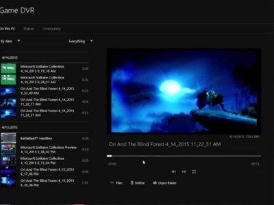 Grabación de juegos de PC, funciones sociales y más son las novedades que Xbox App añade en Windows 10