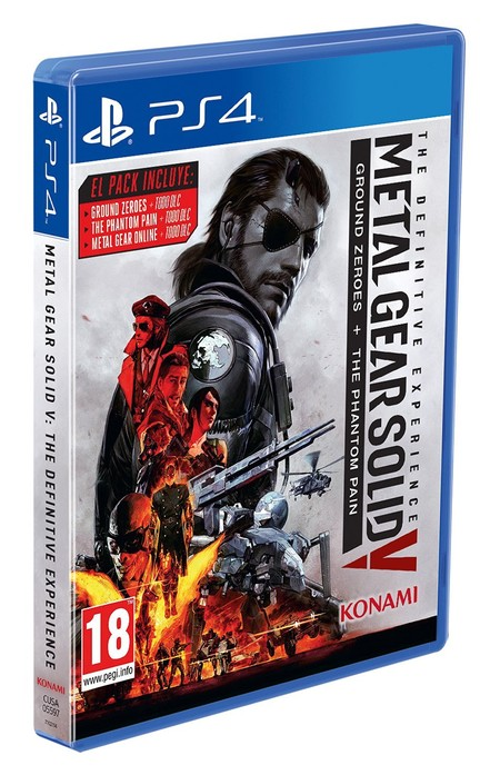 Metal Gear Solid V: The Definitive Experience con 10 euros de descuento