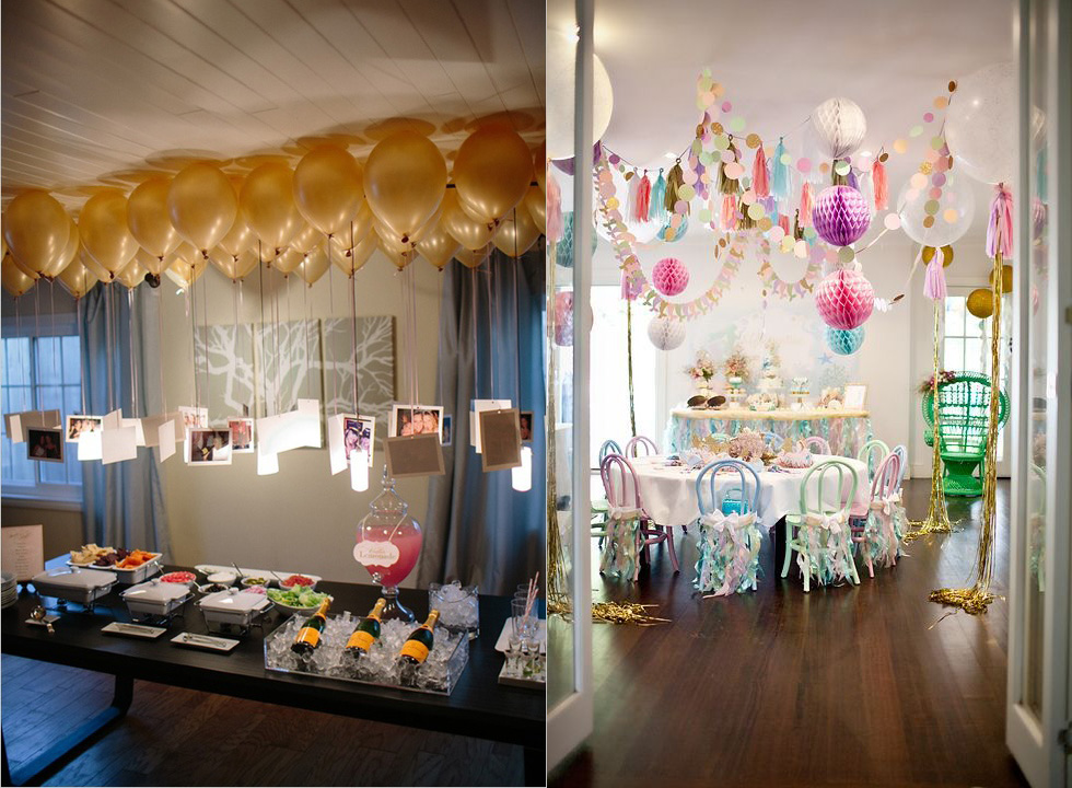 11 ideas de c mo decorar la casa para una fiesta de a o for Ideas para decorar la casa