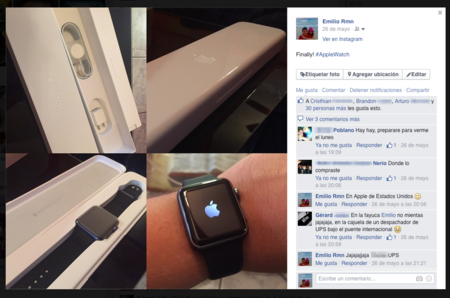 Final Feliz Apple Watch