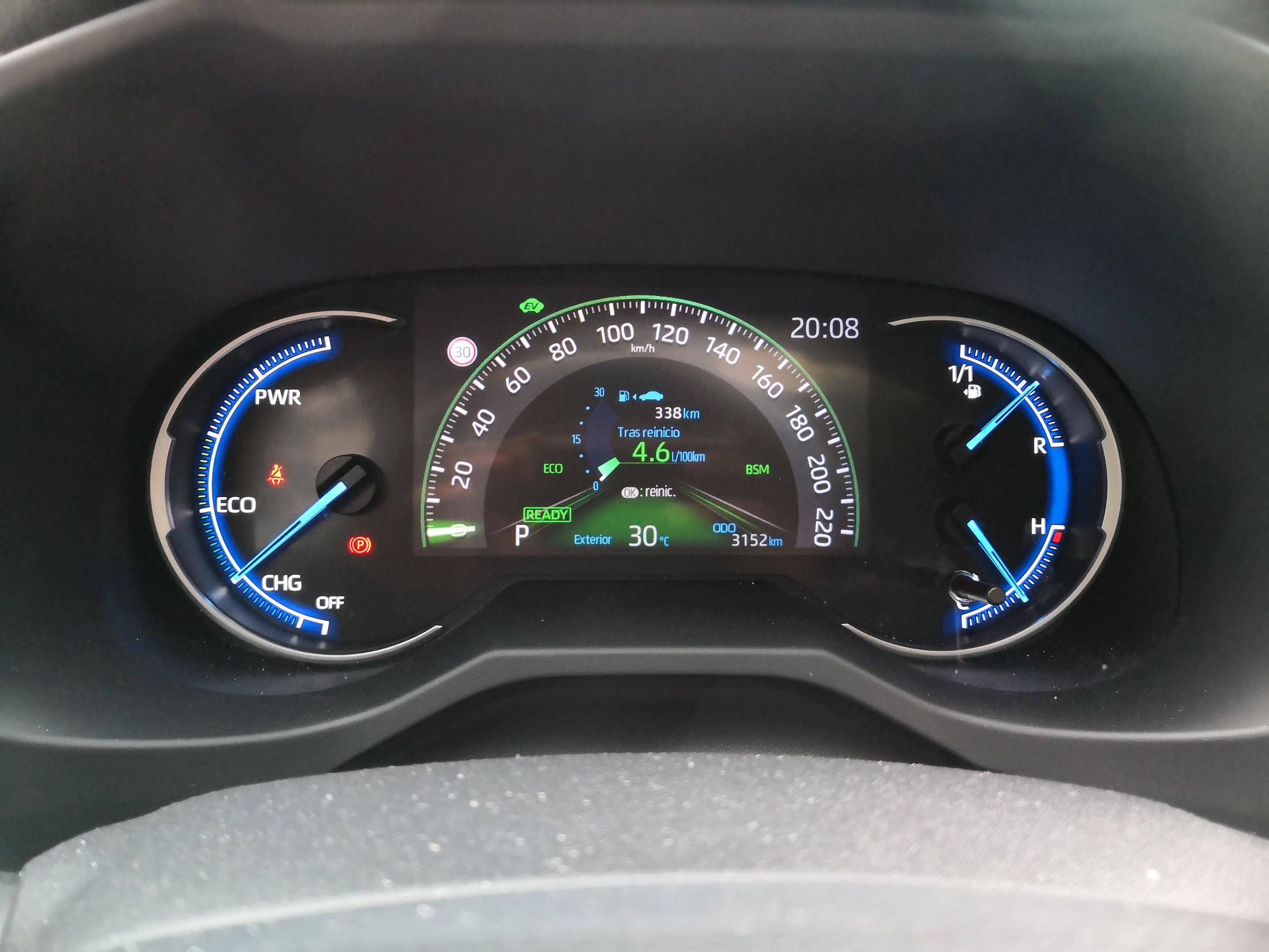 Foto de Toyota RAV4 AWD-i - Fotos interiores (8/17)
