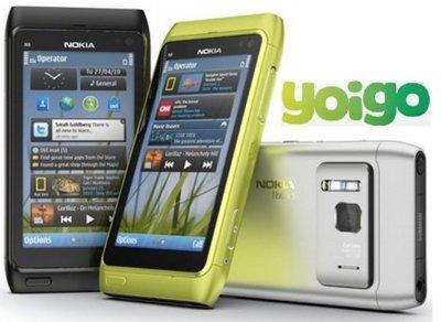 Yoigo lanza el Nokia N8 desde 0 euros entre subidas en el precio de otros smartphones