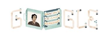 Google dedica su 'doodle' de hoy a Ángela Ruiz Robles, precursora del libro electrónico