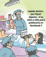 ¿Niño o niña? El primero en enterarse será Facebook