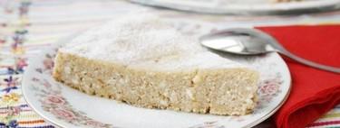 Tarta mallorquina de brossat o requesón, receta tradicional
