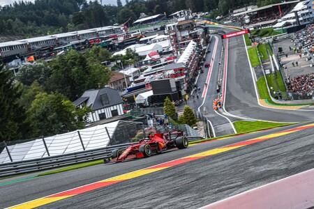 Leclerc Belgica F1 2021