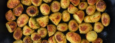 Patatas asadas con mantequilla al eneldo. Receta de guarnición