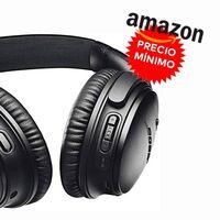 Amazon iguala la oferta de El Corte Inglés y te deja los auriculares de gama alta Bose QuietComfort 35 II por 199,20 euros: el precio más bajo hasta la fecha