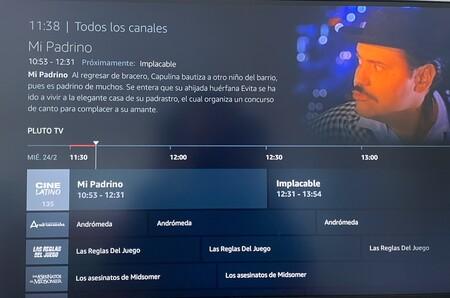 Programacion En Pluto Tv En Fire Tv