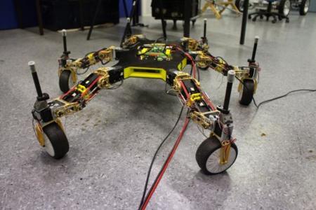 Este robot se está preparando para adaptarse a cualquier entorno y que nada lo detenga