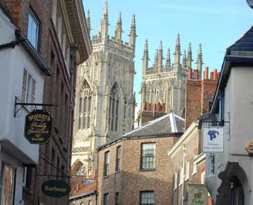 York: los alrededores de la catedral