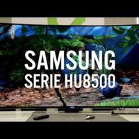 Samsung Serie HU8500, análizamos el televisor curvo de Samsung