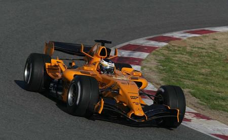 McLaren podría presentar el MP4/29 en color naranja