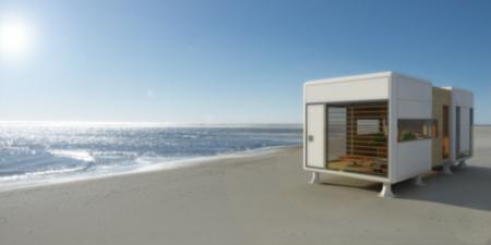 Casas prefabricadas modernas y minimalistas de S-Archetype