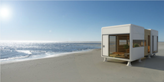 Casas prefabricadas modernas y minimalistas de s archetype - Case trasportabili ...