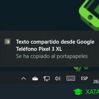 Cómo copiar textos del móvil al portapapeles del PC y viceversa con Chrome
