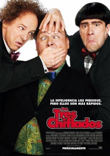 El cartel de Los Tres Chiflados
