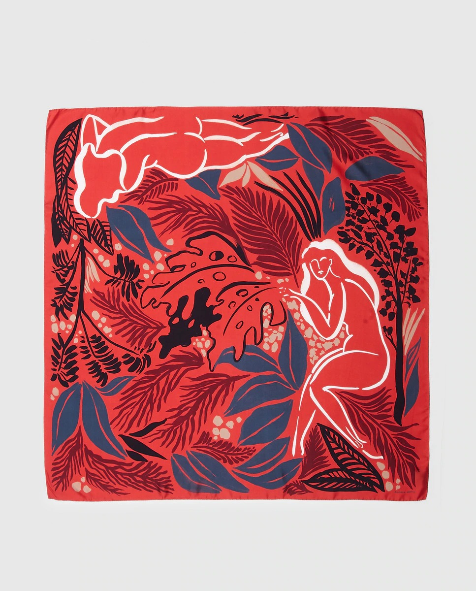 Pañuelo de seda de Gloria Ortiz