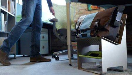 Workiture, una silla para aparcar el bolso