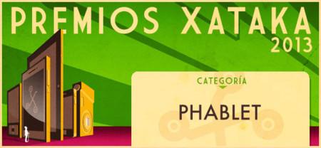 Vota por el mejor phablet de 2013 en los Premios Xataka
