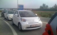 Toyota iQ, pillado de pruebas por Sevilla