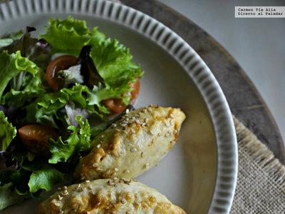 Empanadillas caseras de ternera, champiñones y tomate. La receta de mi abuela