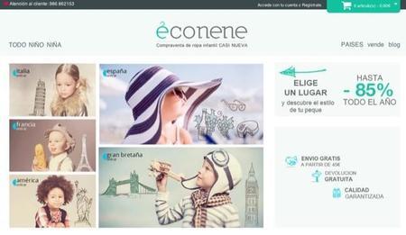 Mundoeconene es una tienda online que permite comprar y vender ropa de segunda mano