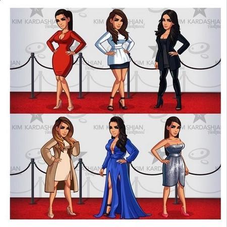 Quietos parados, que tenemos app para ser como Kim Kardashian